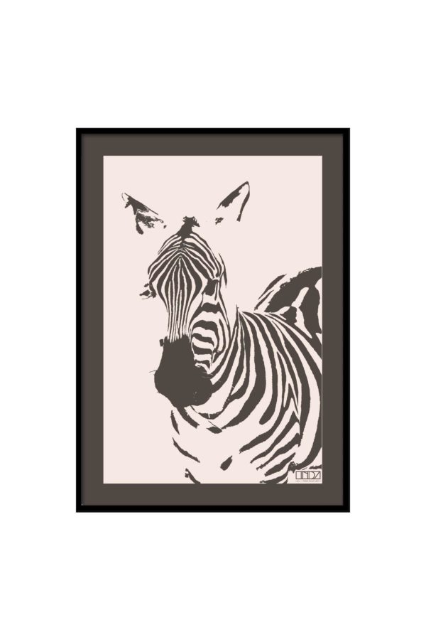 "Poster Collection ""Africa"" Zebra im Grafik Design von design-vie.at in Wien"