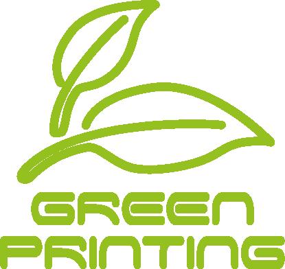 Green Printing Logo umweltbewusst 3D drucken bei 3D-Druckcenter.com