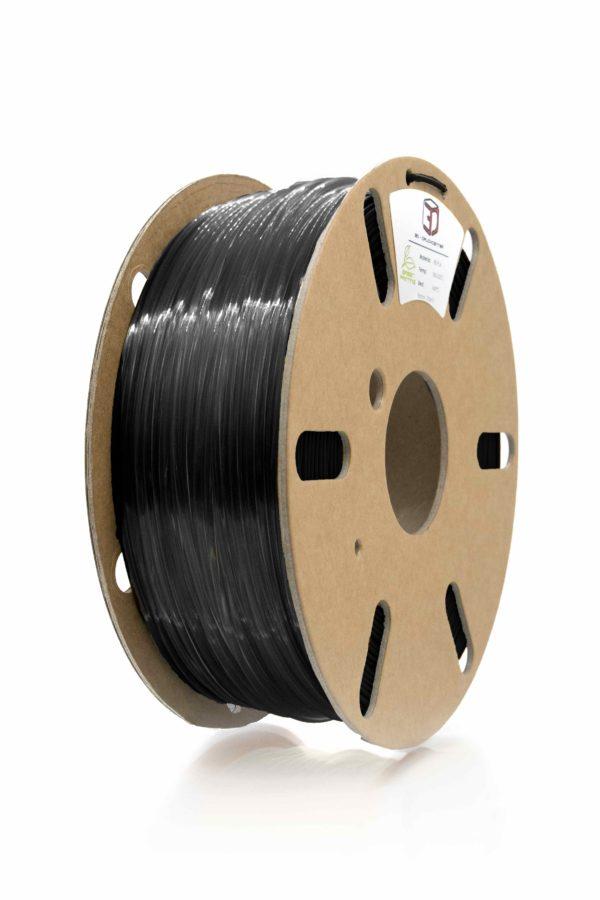 3D Filament clear black PETG von 3DDC