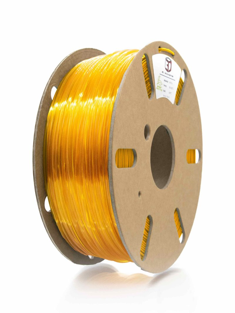 3DDC PETG - clear yellow